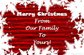 merry from our family to yours