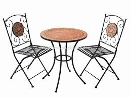 outdoor mosaic bistro table garden furniture mosaic stone table and chair bistro set buy