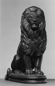 barye lion sculpture file antoine louis barye seated lion number 3 walters 2788