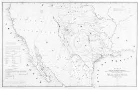 Blank Map Of Texas by Digital History
