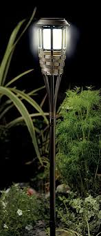 solar powered outdoor l post lights gardman rattan post light amazon co uk pet supplies