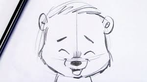coloring pages beautiful cartoon bear drawings simple sketches