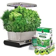 smart countertop amazon com miracle gro aerogarden smart countertop garden