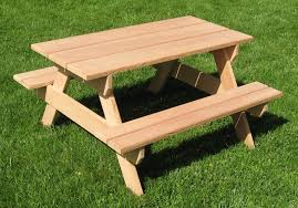 Free Wooden Picnic Table Plans by Top Varieties And Features Of Picnic Tables Backyard Landscape