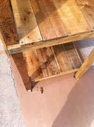 diy pallet wood potting bench