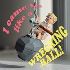 miley cyrus wrecking ornament free here