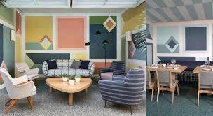 perfect mid century restaurant designed by kelly wearstler