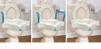 rehausseur siege wc siège de toilette surélevé économique par aquasense aquasense
