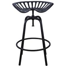 tracteur en bois chaise tracteur en acier h 70 cm esschert design