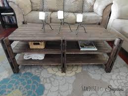 rustic coffee table buildsomething com