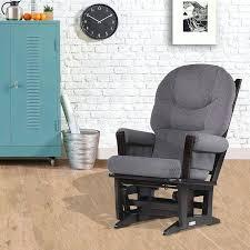 Espresso Rocking Chair Nursery Modern Gliders Nursery Sgmun Club