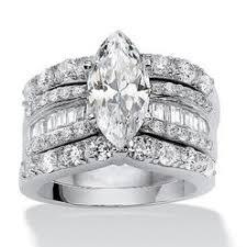 marquise cut wedding set marquise cut wedding rings
