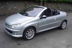 perso car used peugeot 206 convertible for sale motors co uk