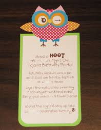 owl birthday invitations dancemomsinfo com