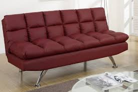 red leather futon roselawnlutheran