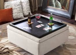 Leather Storage Ottoman Coffee Table Black Leather Ottoman Coffee Table Mandalacoffee Org