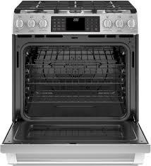 Toaster Burner Ge C2s986selss 30 Inch Slide In Dual Fuel Range With Wifi Connect