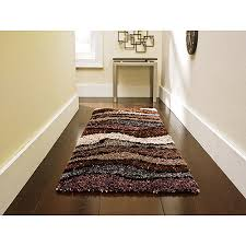 Plush Runner Rugs Orian Whisper Waves Shag Runner 23 X 72 Walmart