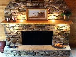 stone facing gas fireplace surround kits amazing for stone facing