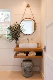 floating vanity with vessel sink floating sink cottage bathroom pacific family homes