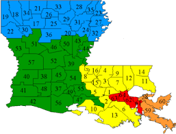 federal circuit court map louisiana circuit courts of appeal ballotpedia