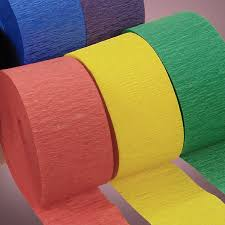 paper ribbons crepe paper streamers that are for any party these