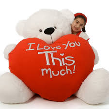 big teddy for s day white s day teddy coco cuddles 60in i