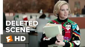 office christmas party deleted scene sweater talk 2016 kate