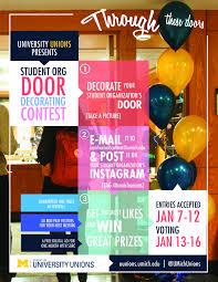 Student Organization Door Decorating Contest