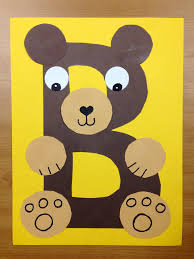 Toddler Halloween Arts And Crafts by B Is For Bear Brown Bear Preschool Alphabet Craft Letter B