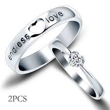 wedding ring sets his and hers cheap heart engraved sterling silver his and wedding ring sets cheap