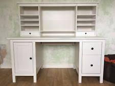 ikea bureau white ikea hemnes white bureau desk ebay