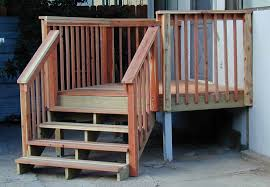Deck Stairs Design Ideas How To Build A Wooden Rail Simply Ideas For Different Deck Stair
