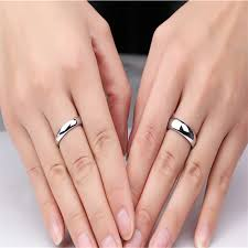 ring finger rings images 36pcs lots new wholesale stainless steel ring mens 6mm silver jpg