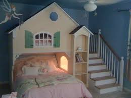 girls bunk bed completed such a cute idea for two little girls