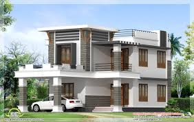 Home Design Sqft Flat Roof Home Design Indian House Plans 1800 Sq