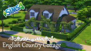english cottage house the sims 4 house build english country cottage youtube