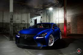 lexus rcf widebody vossen wheels marketing u0026 branding director