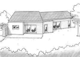plan de maison avec 4 chambres plan maison en v avec 4 chambres ooreka