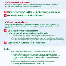 walmart has updated their ad match policy grocery