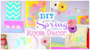 Diy Room Decorating Ideas Diy Room Decorations For Spring Inspired Youtube