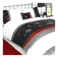 Black Bedding Sets Queen Black White Red Duvet Covers Red Black Duvet Covers Double Bed