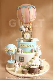 hot air balloon cake topper hot air balloon cake by guiltdesserts baloons