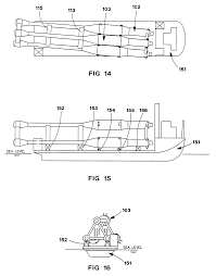 patent us6273018 buoyant substructure for offshore platform