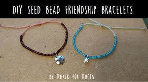 make friendship bracelet beads images Diy seed bead wax string friendship bracelets tutorial inspired jpg