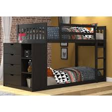 Tidy King Bed With Storage by Kids U0027 Bookcase Beds You U0027ll Love Wayfair