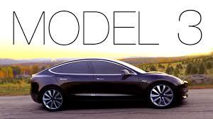 tesla unveils model 3 sedan consumer reports youtube