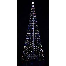 led christmas tree 144 inch 12 ft multi color led christmas tree with