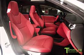 pink bentley interior pearl white tesla model s 1 0 custom bentley red interior