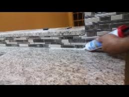 Caulking Kitchen Backsplash How To Caulk On A Kitchen Backsplash Seal The Gap Between